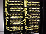 Patch panel structure photo